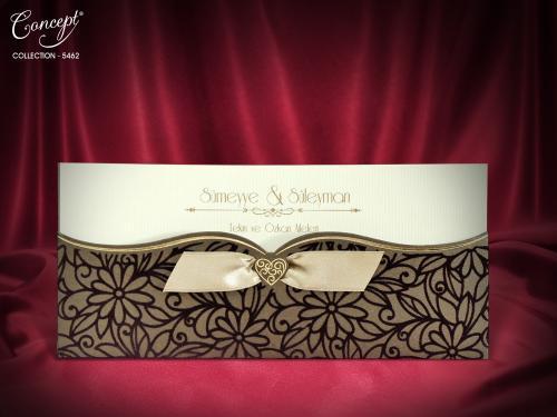 Luxe trouwkaart