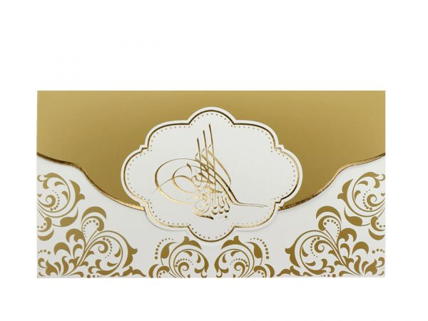 Moderne trouwkaart 5518