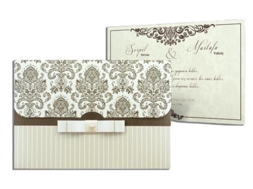 Klassieke huwelijkskaart