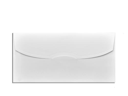 Envelop wit 11 x 22 cm