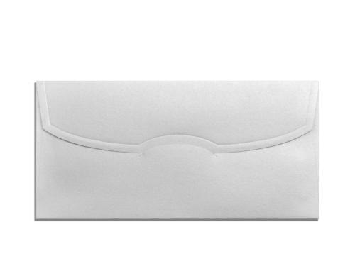 Envelop zilver 11 x 22 cm