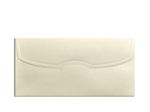 Envelop goud 11x22 cm