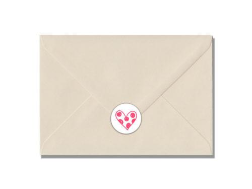 Hartje stippen-envelop