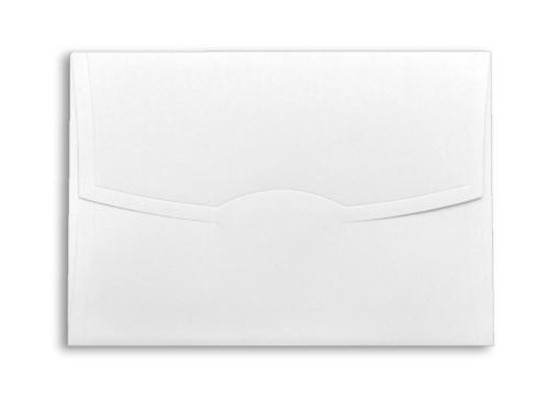 Luxe witte envelop 15 x 21 cm gemaakt van 120 gram kwaliteitspapier