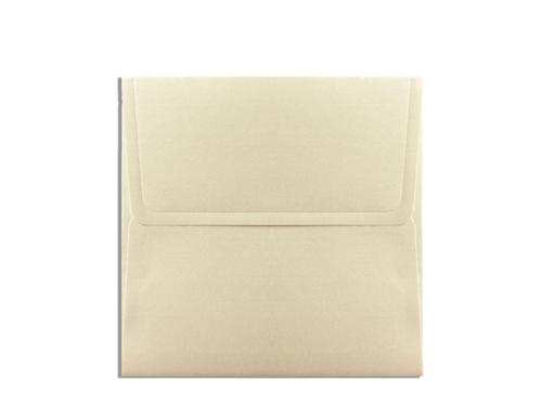 Luxe envelop goud 17 x 17 cm