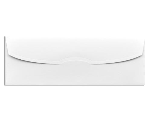 Witte envelop 9,7 x 27,4 cm