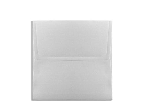 Luxe envelop parelmoer 16 x 16 cm