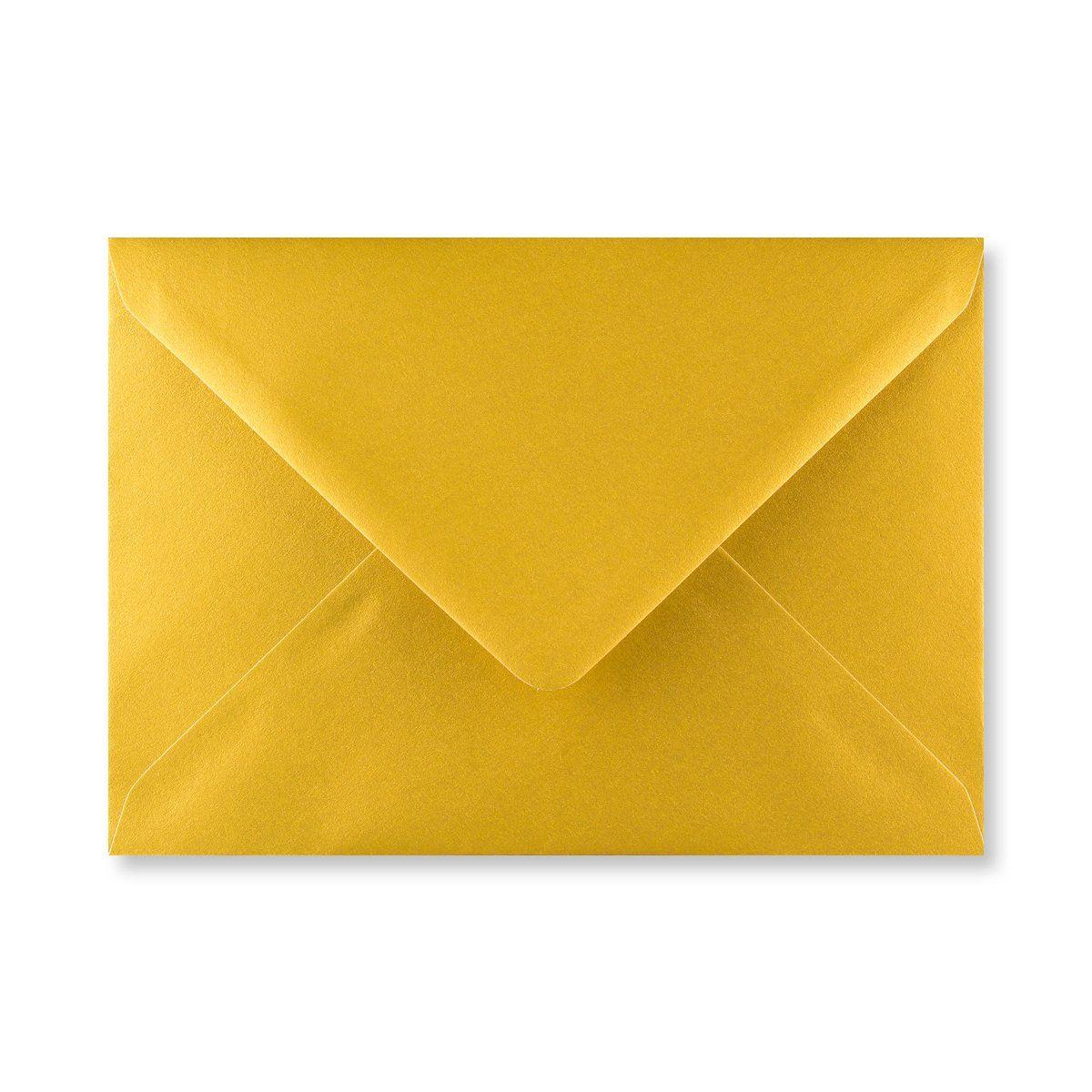 Gouden C5 enveloppen achterkant