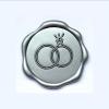 Wax zegel ringen zilver